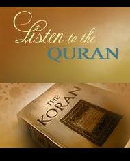 Listen to the Qur'an